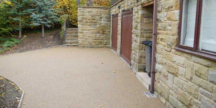 After image of resin driveway Doncaster