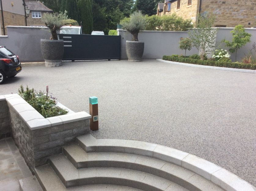 resin driveways in bingley