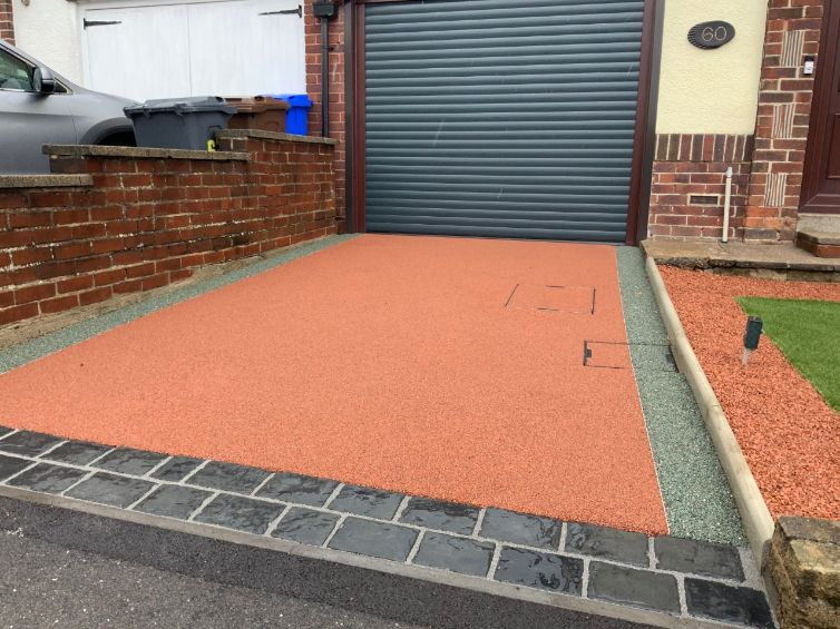 resin driveway companies Leigh