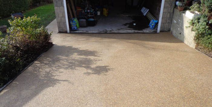 After image resin driveway Dewsbury