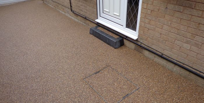 After Resin driveway Huddersfield