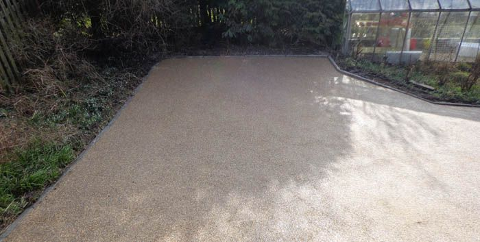 After image large resin driveway Sheffield