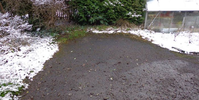 Before image large tarmac driveway Sheffield