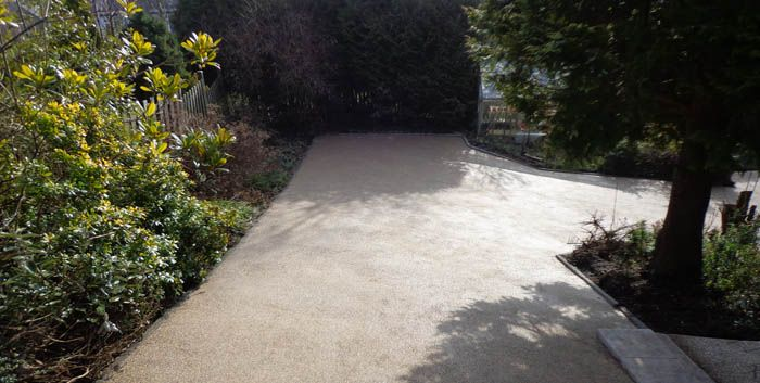 After image new resin driveway Rotherham