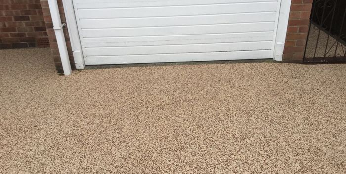 After image of new resin driveway Barnsley