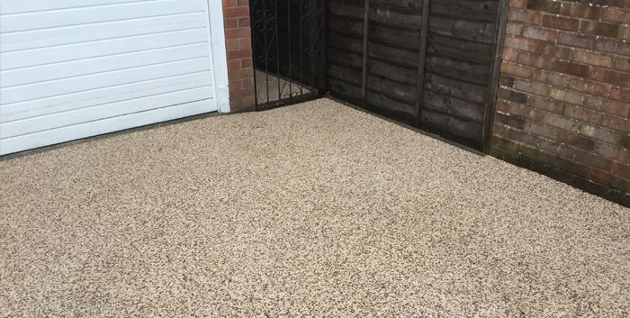 After image of new resin driveway Doncaster