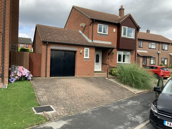 Before image of a driveway in York