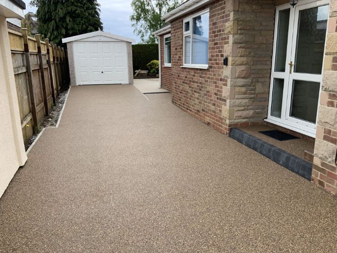 After image of Brittney Bronze and Danish Resin Driveway