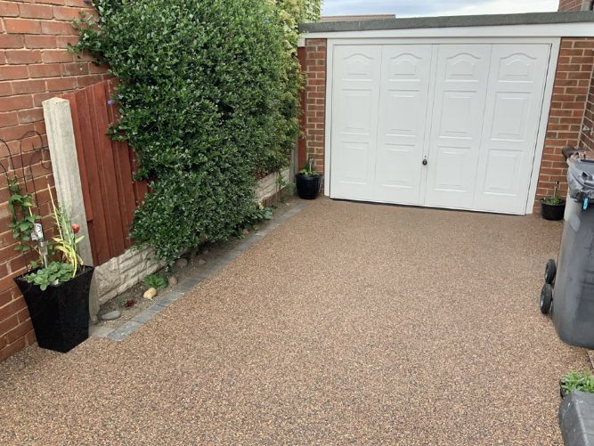 After image of a Brittney Black driveway in York