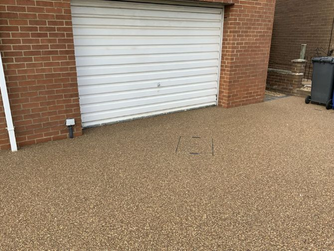 After image of a Sunburst driveway in Doncaster