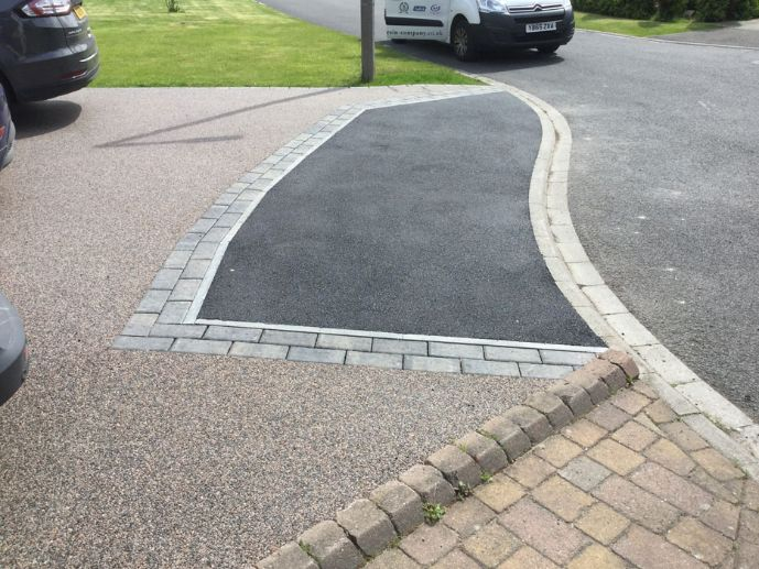 After image of Black Cerise driveway in York